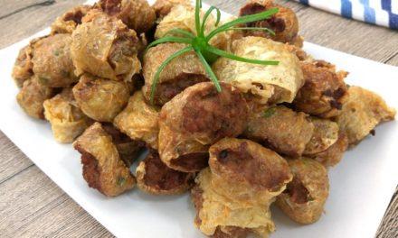 Five Spice Bak Kian (Minced Pork Rolls)