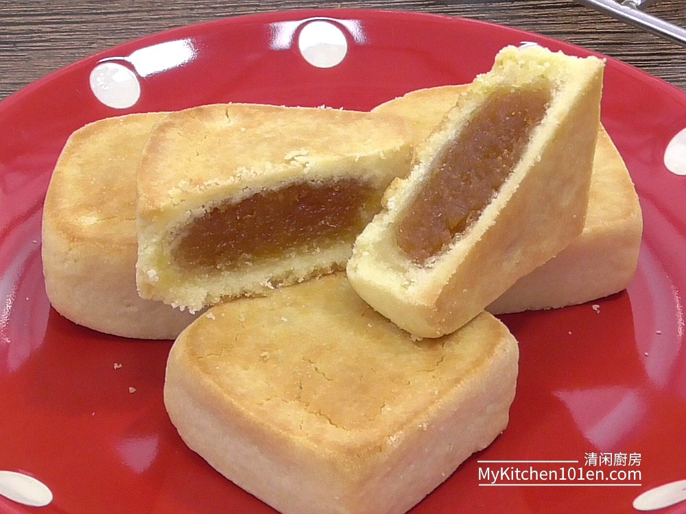 Taiwanese Pineapple Cake Recipe Mykitchen101en Com