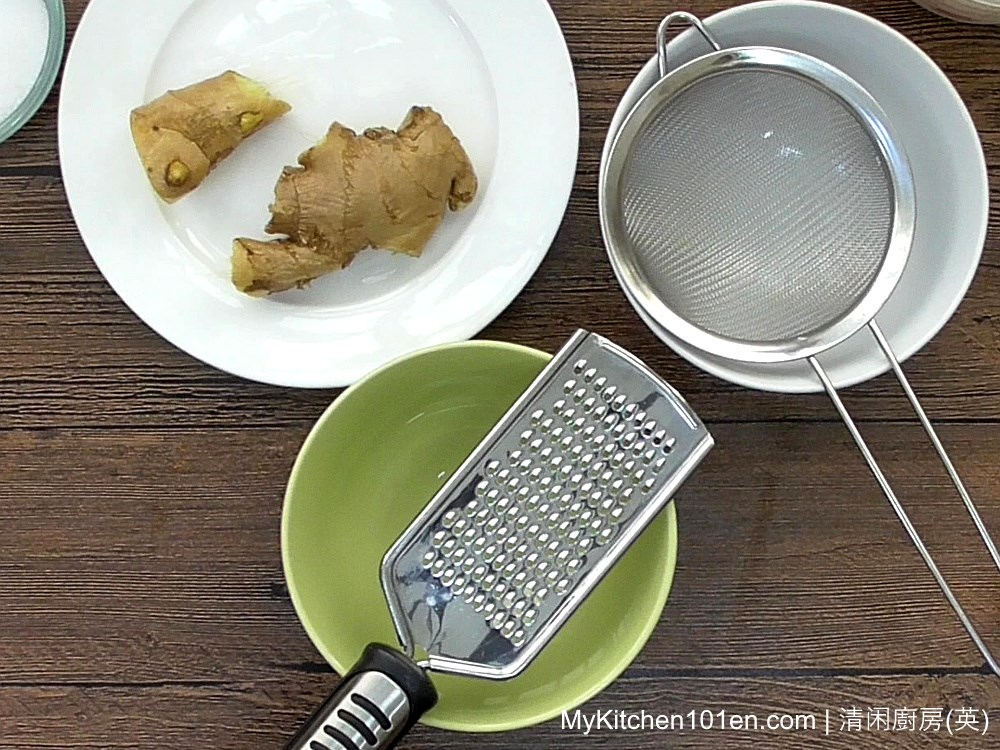 Ginger Milk Curd/Pudding Recipe