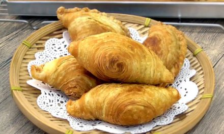 Spiral Curry Puff (Karipap Pusing): Deep-Fried or Baked
