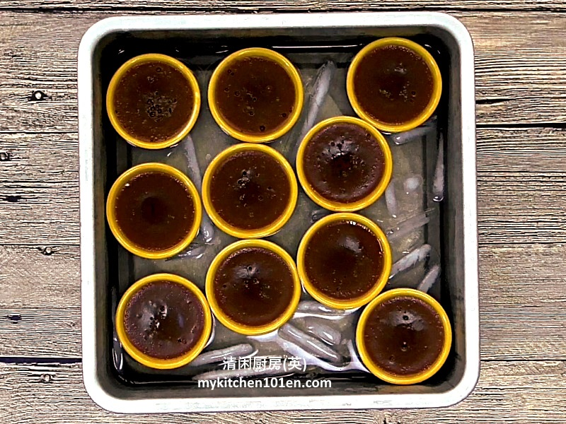 Kuih Kosui with Dark Brown Sugar