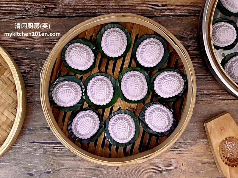 Savoury Mung Bean Paste Angkoo Kuih