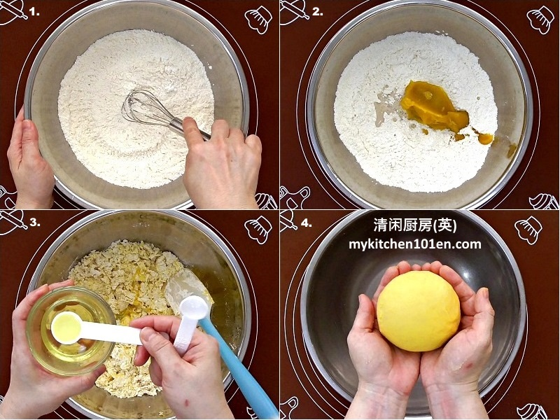 Pumpkin Chinese Steamed Bun