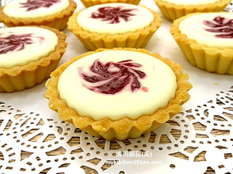 No-Bake Strawberry Cheese Tart
