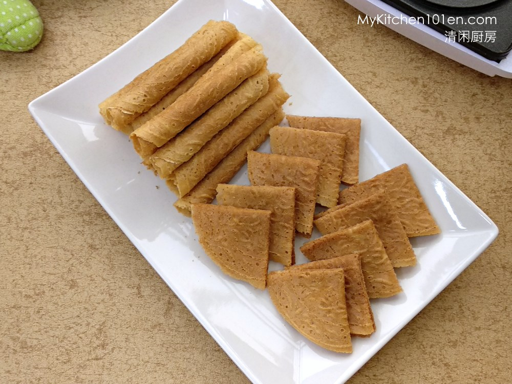 Homemade Kuih Kapit (Love Letters Biscuit)