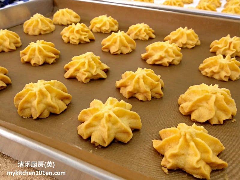 Salted Egg Yolk German Butter Cookies