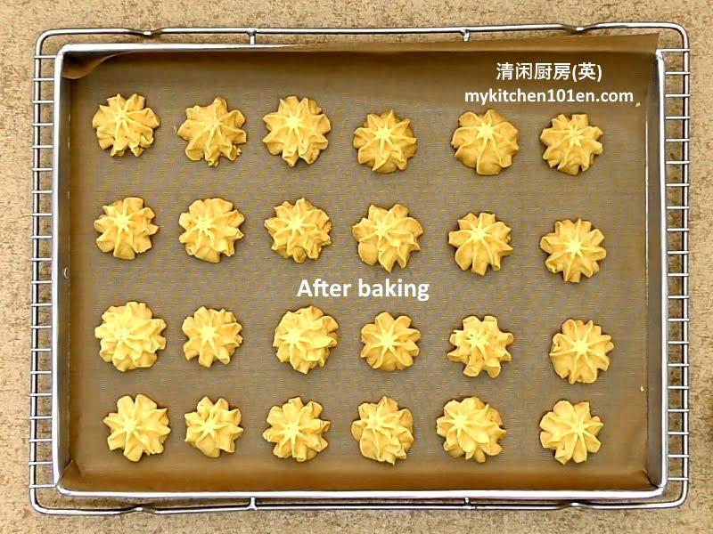 Salted Egg Yolk Butter Cookies
