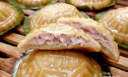 Taro Paste Angku Kuih