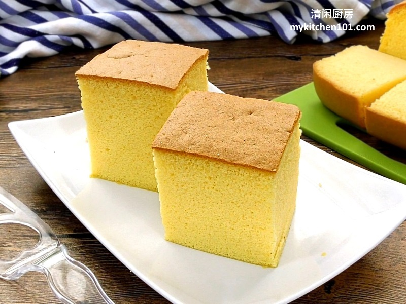 Cotton Sponge Cake without shrinking